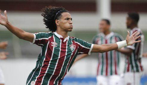 Fluminense bate São Paulo e pula para a terceira posição do Brasileirão sub-20