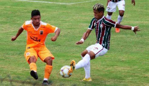 Fluminense e Nova Iguaçu empatam pela Taça Rio sub-20