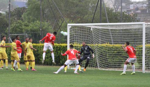 Inter goleia Galvez no jogo de ida das oitavas da Copa do Brasil sub-20