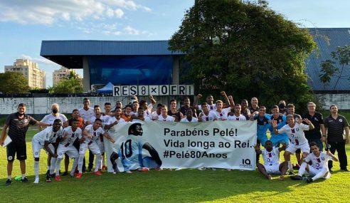 Pela Taça Rio sub-20, Resende aplica 8 a 0 no Friburguense