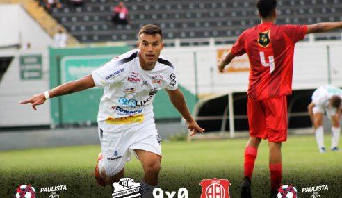 Que estreia! Comercial faz 9 a 0 na Inter de Bebedouro pelo Paulistão sub-20