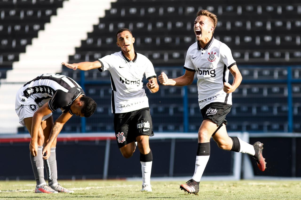 De virada, Corinthians bate Botafogo pelo Brasileirão sub-17