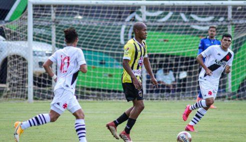 Volta Redonda goleia Vasco na abertura da segunda rodada da Taça Rio sub-20