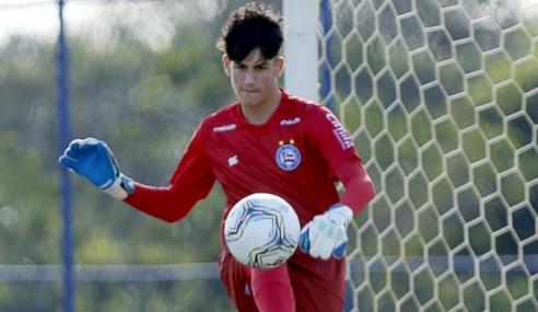 Destaque do Bahia, goleiro mira jogo difícil no retorno do Brasileirão sub-17