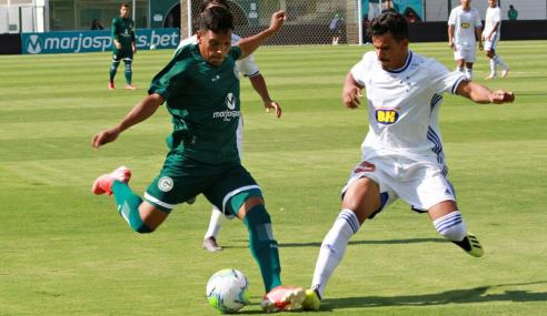 Goiás e Cruzeiro empatam na abertura da quarta rodada do Brasileirão sub-20