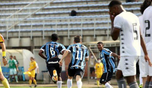 Brasileirão sub-17: Botafogo abre 4 a 1, mas Grêmio busca empate em menos de dez minutos