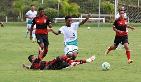 Com gol solitário, Flamengo vence Goiás fora de casa pelo Brasileirão sub-17