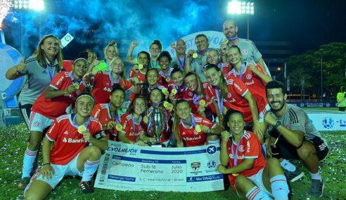 Internacional realizará peneira para o futebol feminino