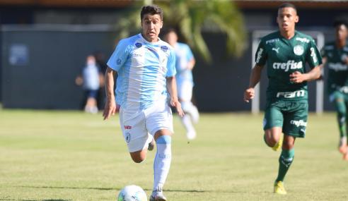 Palmeiras vira, mas cede empate ao Londrina pela Copa do Brasil sub-20