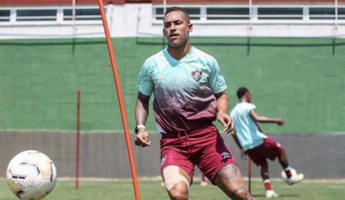 Figueirense fica próximo de atacante do Fluminense