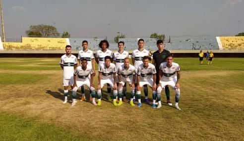 Coritiba deslancha no segundo tempo e elimina Palmas na Copa do Brasil sub-20