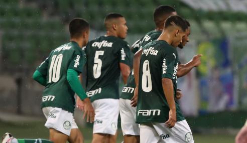 Palmeiras vira e elimina Londrina da Copa do Brasil sub-20