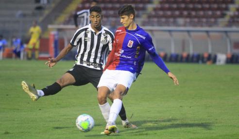 Paraná e Santos empatam no fechamento da primeira rodada do Brasileirão de Aspirantes