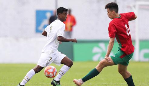 Na abertura do Paulistão sub-20, Santos empata com a Portuguesa Santista
