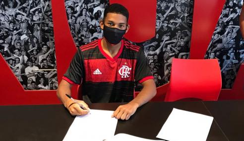 Flamengo contrata jovens de São Paulo e Criciúma para a base