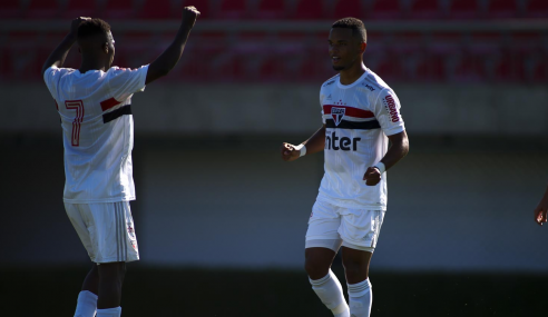 São Paulo domina e vence o Botafogo pelo Brasileirão sub-20