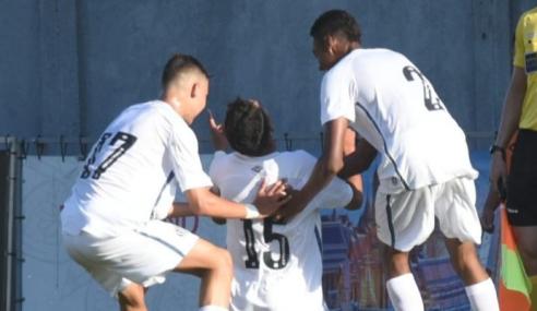 Santos marca no fim e empata com o Vitória pelo Brasileirão sub-17