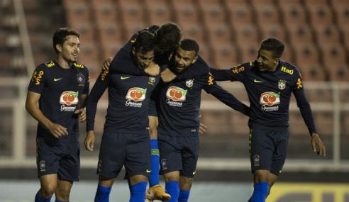 Seleção brasileira sub-20 deslancha no fim e vence Ituano em jogo-treino