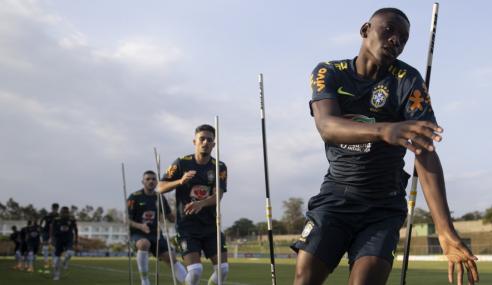 Seleção sub-20 inicia treinos com grupo incompleto; mais três são convocados