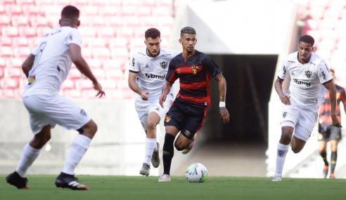 Atlético-MG bate Sport Recife e vence a primeira no Brasileirão sub-20