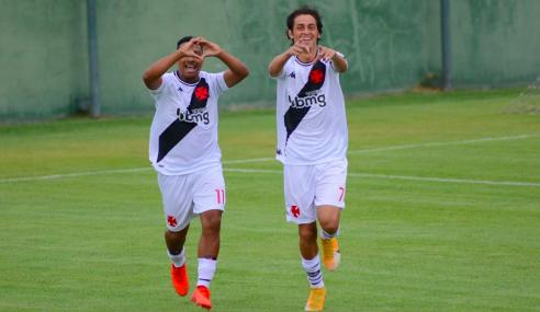 Vasco decide no primeiro tempo e vence Atlético-MG  pelo Brasileirão sub-17