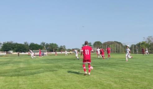 Vila Nova e Anapolina empatam, e Aparecida assume liderança do grupo no Torneio FGF sub-20