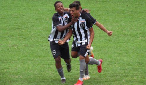 Botafogo estreia na Taça Rio sub-20 com goleada sobre o Macaé Esporte