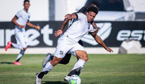 Ceará cede empate ao Botafogo no fim pelo Brasileirão sub-20