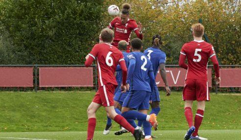 Líder do Inglês sub-23, Chelsea perde para o Liverpool