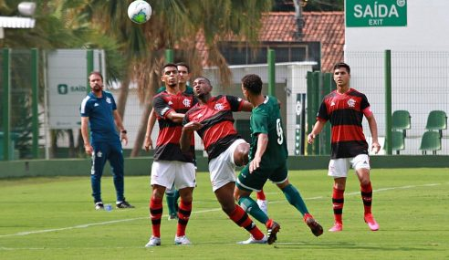 Flamengo consegue segundo triunfo seguido no Campeonato Brasileiro sub-20