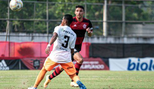 Com gol no último minuto, Flamengo é eliminado pelo Nova Iguaçu na Taça GB sub-20