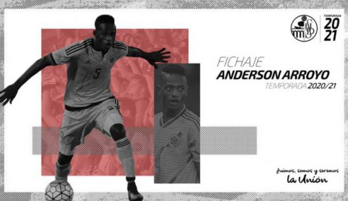 Liverpool-ING empresta Anderson Arroyo ao Salamanca-ESP