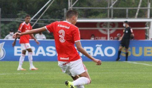Internacional faz 5 a 0 no Vilhenense e avança na Copa do Brasil sub-20