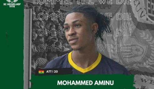Manchester City-ING empresta Mohammed Aminu ao Lommel SK-BEL