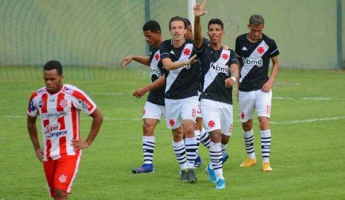 Vasco da Gama vence Bangu por 4 a 3 e é finalista da Taça Guanabara sub-20