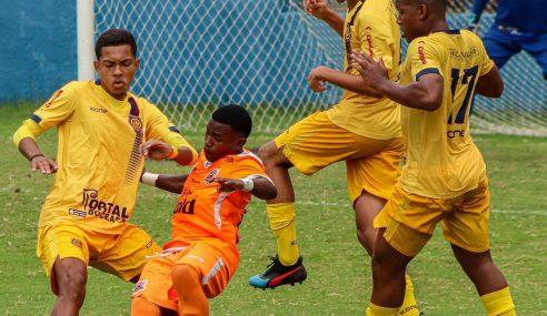 Madureira empata com o Nova Iguaçu e é finalista da Taça GB Sub-20