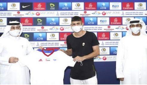 Sharjah FC-EAU anuncia contratação de jovem atacante do São Bernardo FC