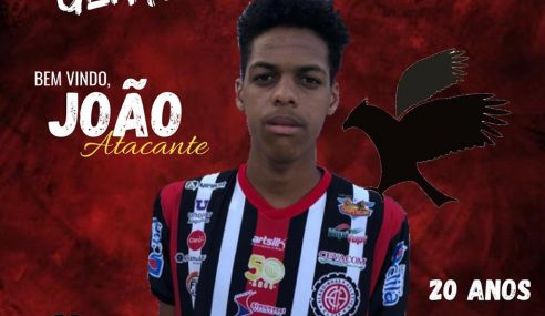 Atlético de Alagoinhas promove atacante para o profissional