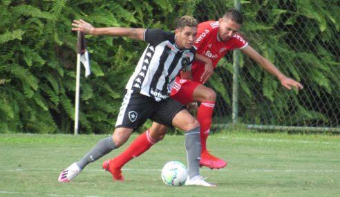 Brasileirão sub-20: Botafogo e Internacional empatam em partida com três pênaltis