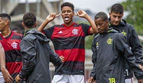 Flamengo bate Sport Recife e vence pela primeira vez no Brasileirão sub-20