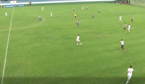 Vasco empata no fim e escapa de mais uma derrota no Brasileirão sub-20