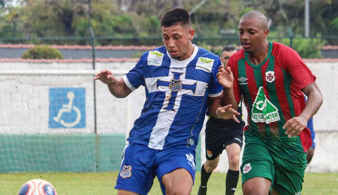 Portuguesa Santista empata com o Água Santa e mantém liderança do Grupo 6 do Paulistão sub-20
