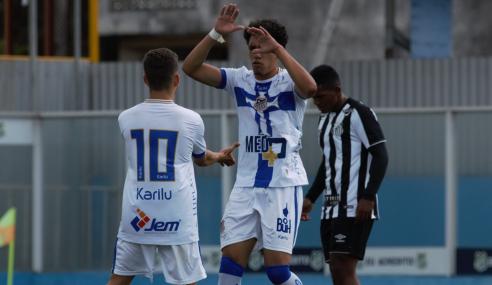 Água Santa e Santos empatam pela quinta vez seguida no Paulistão sub-20