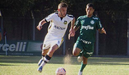 Gol contra dá vitória ao São Bernardo FC diante do Palmeiras pelo Paulistão sub-20