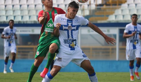 Portuguesa Santista arranca empate nos acréscimos e segue invicta no Paulistão sub-20