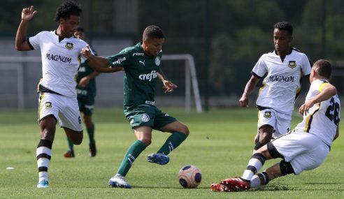 Palmeiras perde em casa e fica em situação complicada no Paulistão sub-20