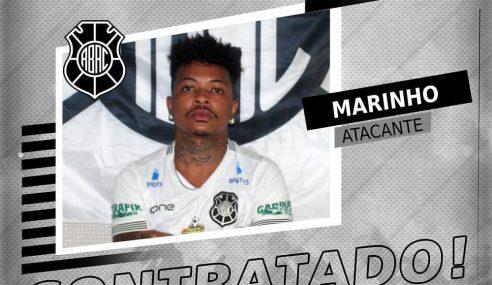 Rio Branco-ES acerta com atacante Marinho