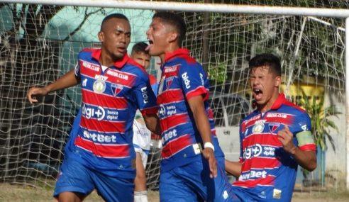 Fortaleza estreia com vitória no Cearense Sub-17