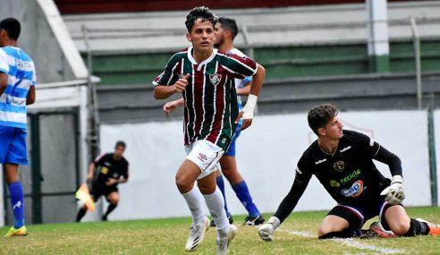 Fluminense impõe terceira derrota seguida ao Paysandu no Brasileirão de Aspirantes