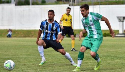 Grêmio reage e escapa de derrota diante do Juventude pelo Brasileiro de Aspirantes